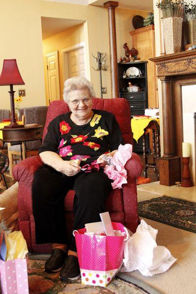 80th birthday Pat