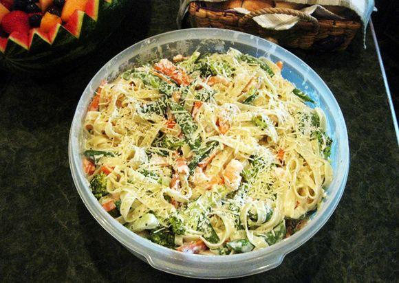 80th birthday pasta salad