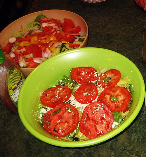 80th birthday salad