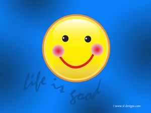 Cute-computer-wallpaper-backgroundslife-is-good-smiley-face--desktop-wallpaper-zepfkgui