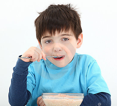 Boy-eating-oatmeal-2