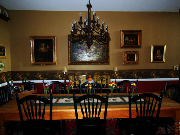 Fall table and lowboy
