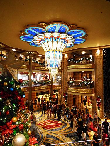 Cruise atrium