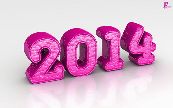 Pink-3D-Happy-New-Year-Greetings-2014-HD-Wallpaper-with-Wishes-SMS
