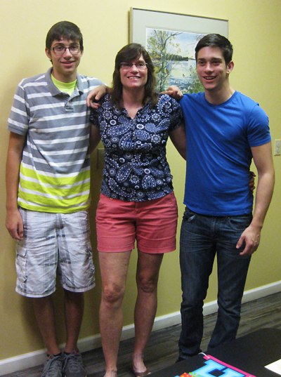 Blue christina and sons