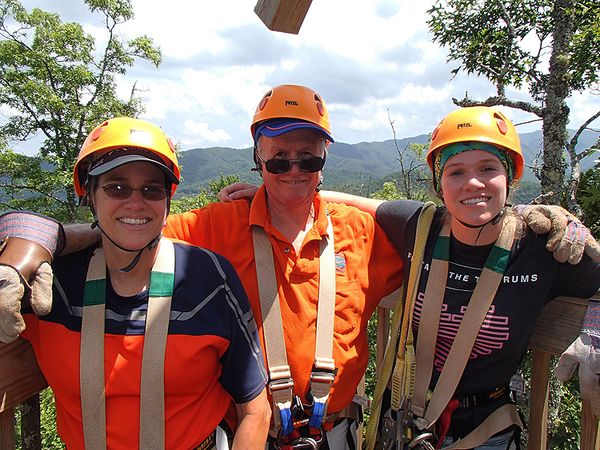 Zip line bill ashley Diana