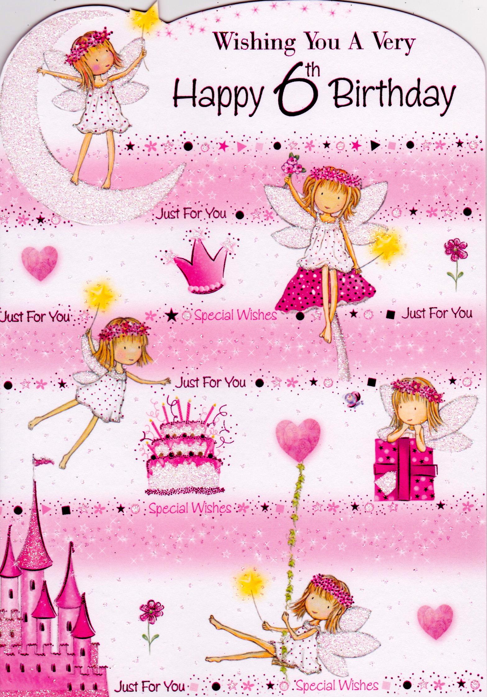 Backyard Neighbor Happy 6th Birthday Pink Saturday