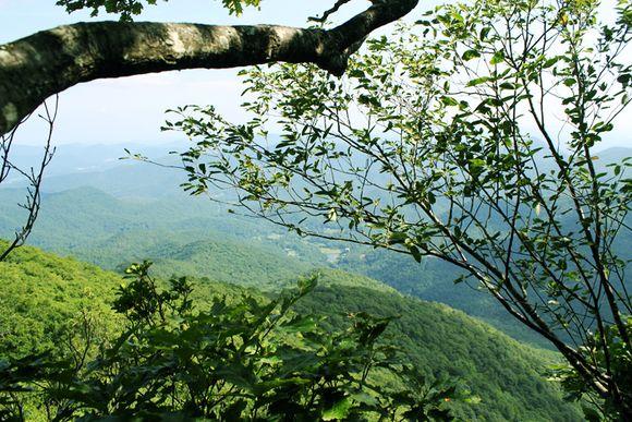 Pickins nose mountain view