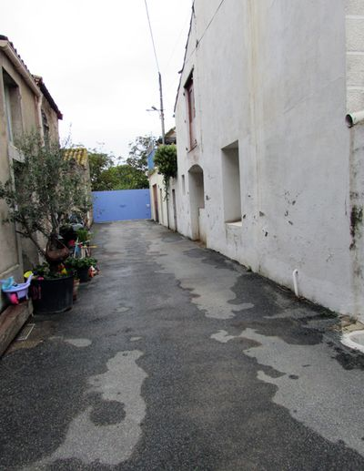 France Olanzac Alley to our house