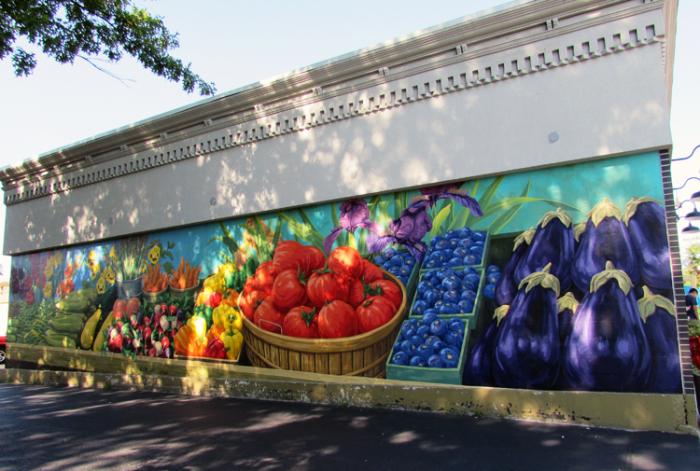 SH veg mural