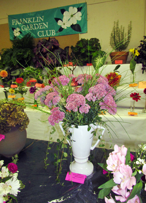 Flower show FGC sign