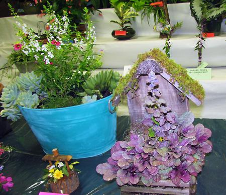 Flower show special arrangements