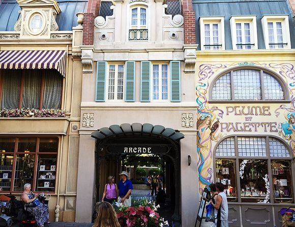 Pink S Epcot France