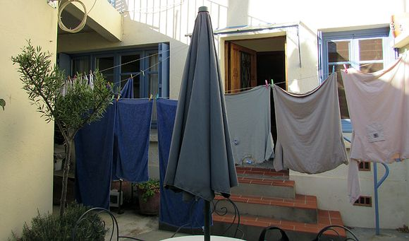France Olanzac clothesline