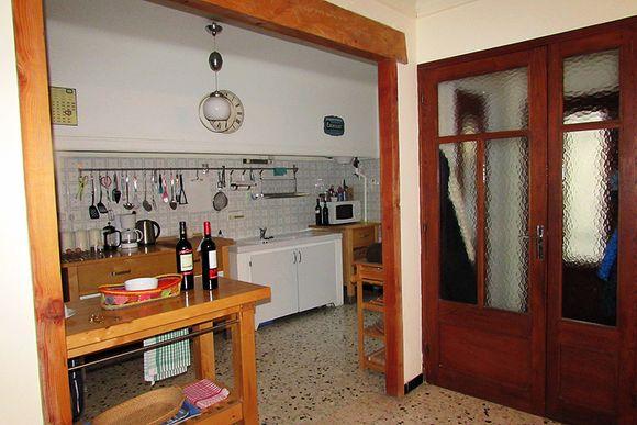 France Olanzac kitchen