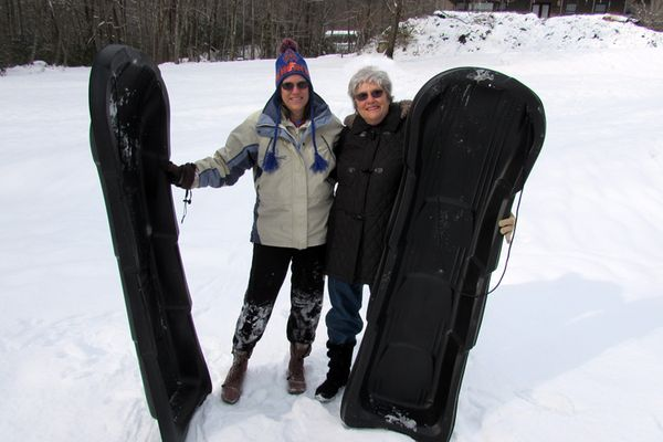 Snow Diana and Jeanne