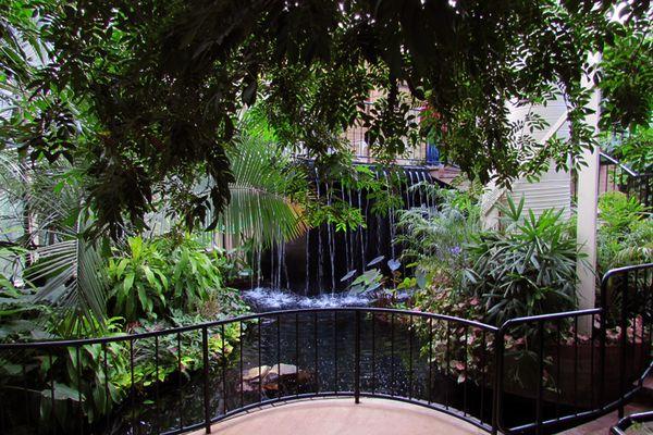 Callaway butterfly garden waterfall