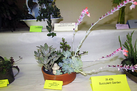 Flower show arrangement 3