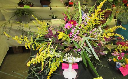 Flower show arrangement