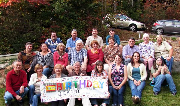 Jeanne's birthday party 2014