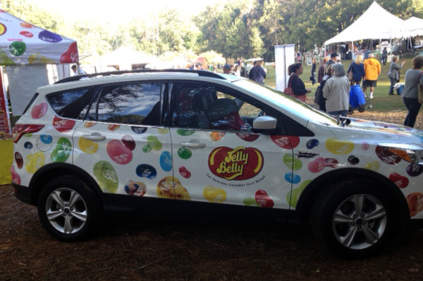CL jelly belly car
