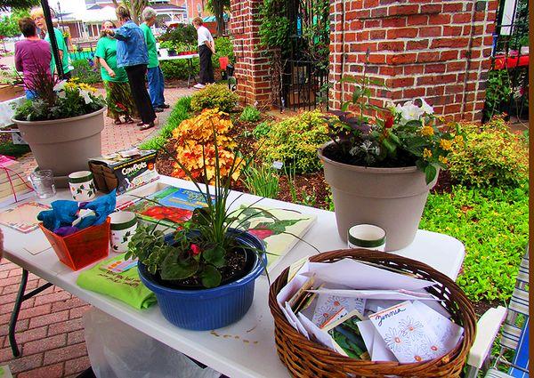 Fgc plant sale raffle table