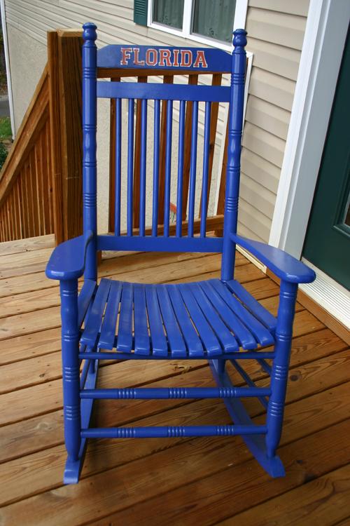 Beautiful Blue_gator_rocking_chair_2 This Rocking Chair ...